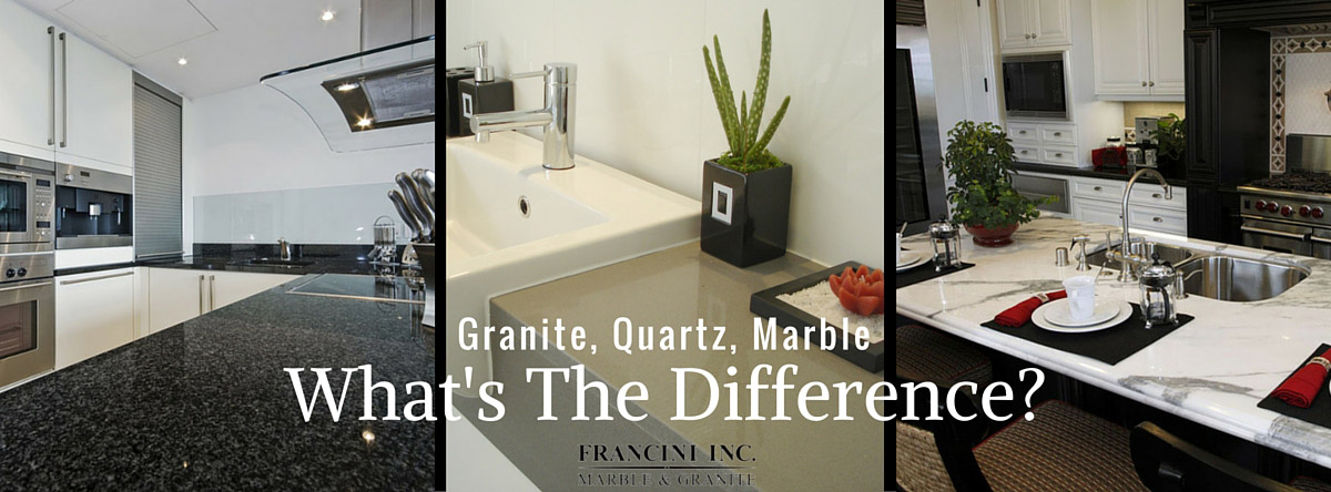 What Is The Difference Between Quartz Marble And Granite