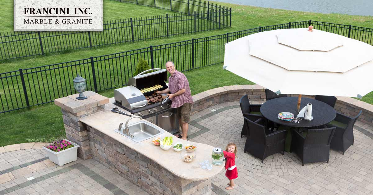 How Granite Can Make Your Backyard Into A Private Retreat